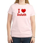 I Love Duluth Women's Light T-Shirt