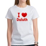 I Love Duluth Women's T-Shirt