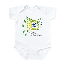 Brazil - Verde Infant Bodysuit