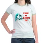 'WHERE'S MY BLOOMING TEA?' - Jr. Ringer T-Shirt