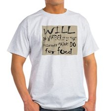 Homeless Philosopy Major T-Shirt