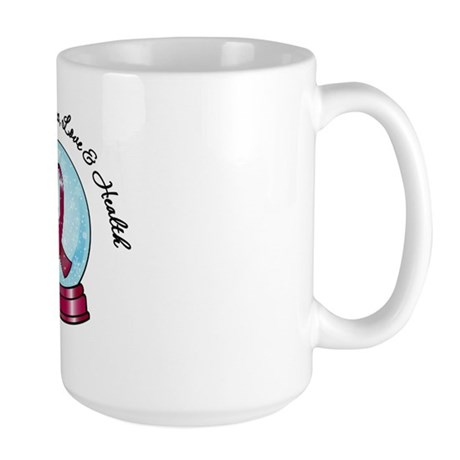 Snowglobe Multiple Myeloma Large Mug