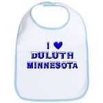 I Love Duluth Winter Bib