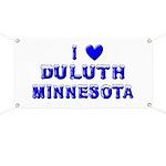 I Love Duluth Winter Banner
