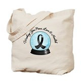 Snowglobe Melanoma Tote Bag