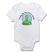 Snowglobe Lymphoma Infant Bodysuit