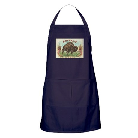 Vintage Cigar Label Apron (dark)