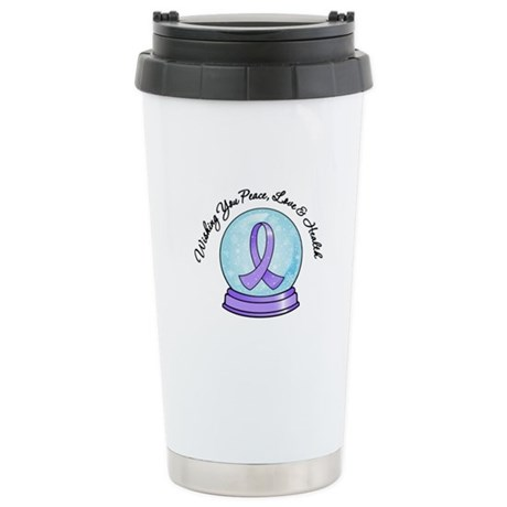 Snowglobe General Cancer Ceramic Travel Mug