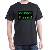 Wicked Pissah! Black T-Shirt