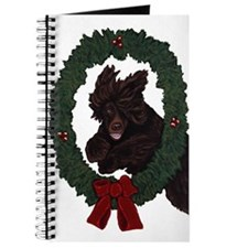 Cute Christmas dog Journal