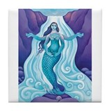 Awakened Aphrodite Tile Coaster