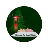 "Reindeeer Going Rogue 3.5"" Button (100 pack)"
