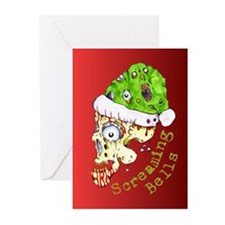 Screaming Bells Greeting Cards (Pk of 20)