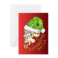 Screaming Bells Greeting Card