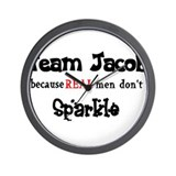 Funny Team jacob Wall Clock