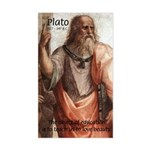 Plato Education Love Beauty Rectangle Sticker