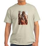 Plato Education Love Beauty Ash Grey T-Shirt