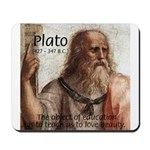 Plato Education Love Beauty Mousepad