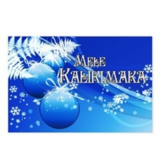 Hawaiian Christmas Postcards (Package of 8)