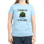 At The Cabin Women's Light T-Shirt