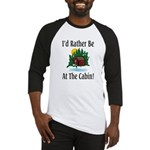 At The Cabin Baseball Jersey