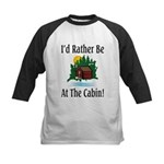 At The Cabin Kids Baseball Jersey