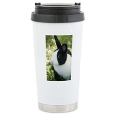 Dutch Bunny Rabbit Ceramic Travel Mug