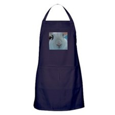 Magic Happens bunny apron (dark)