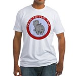 Hippo Talk To The Tail Fitted T-Shirt