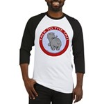 Hippo Talk To The Tail Baseball Jersey