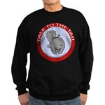 Hippo Talk To The Tail Sweatshirt (dark)
