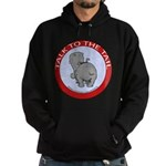 Hippo Talk To The Tail Hoodie (dark)