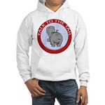 Hippo Talk To The Tail Hooded Sweatshirt