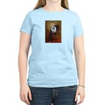 Lincoln / Keeshond (F) Women's Light T-Shirt