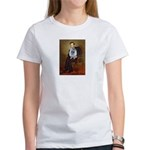 Lincoln / Keeshond (F) Women's T-Shirt