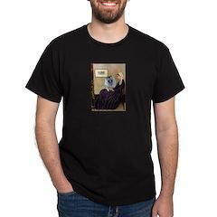 Mom's Keeshond (F) Dark T-Shirt