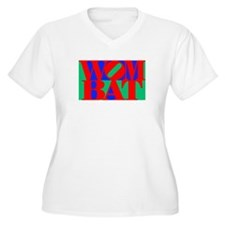 Wombat Text Pop Art T-Shirt