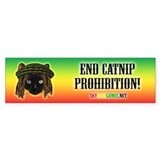 End Catnip Prohibition! Bumper Sticker (10 pk)