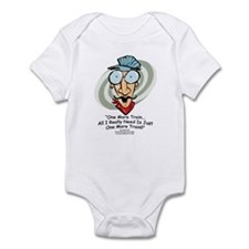 """One More Train"" Infant Bodysuit"