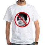 Anti Sarah Palin White T-Shirt