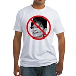 Anti Sarah Palin Fitted T-Shirt