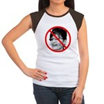 Anti Sarah Palin Women's Cap Sleeve T-Shirt