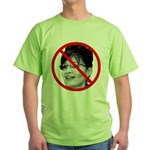 Anti Sarah Palin Green T-Shirt
