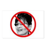 Anti Sarah Palin Postcards (Package of 8)