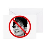 Anti Sarah Palin Greeting Cards (Pk of 20)