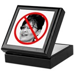 Anti Sarah Palin Keepsake Box