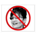 Anti Sarah Palin Small Poster