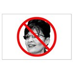 Anti Sarah Palin Large Poster
