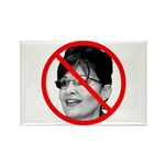 Anti Sarah Palin Rectangle Magnet
