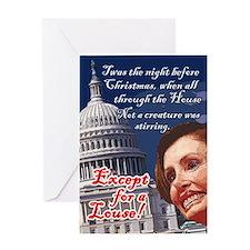 Nancy Pelosi Holiday Greeting Card